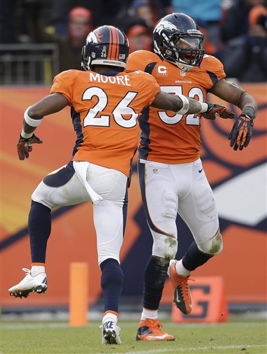 Wesley Woodyard, Rahim Moore