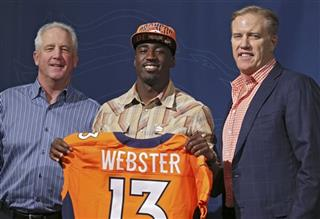 John Elway, John Fox, Kayvon Webster