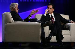 Bill Clinton, Stephen Colbert