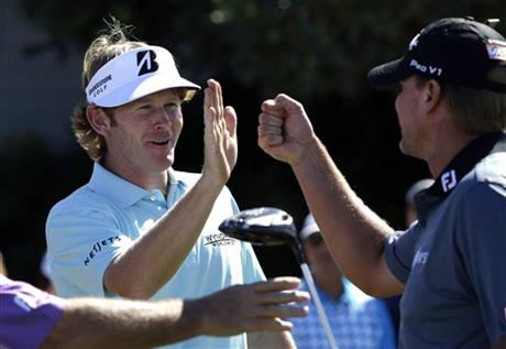 Brandt Snedeker, Steve Stricker
