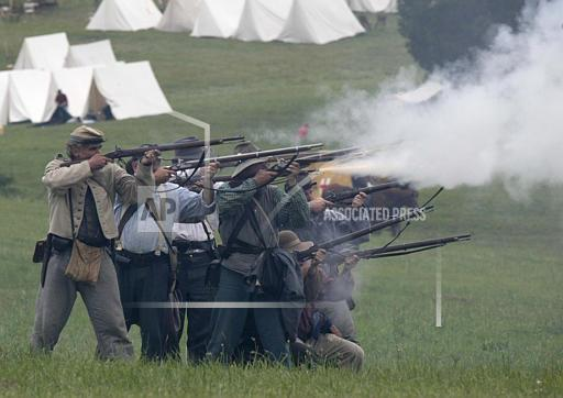 Associated Press Domestic News Virginia United States Feature REENACTMENT LEXINGTON