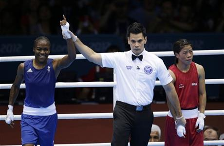 Chungneijang Mery Kom Hmangte, Nicola Adams