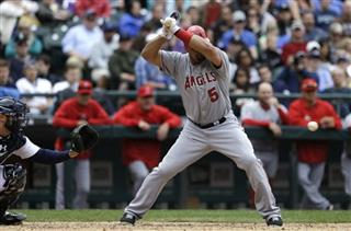 Kelly Shoppach, Albert Pujols
