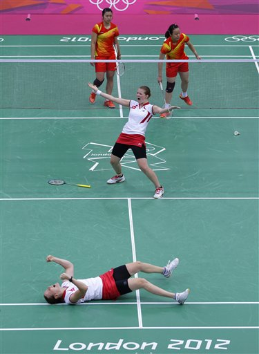 APTOPIX London Olympics Badminton Women