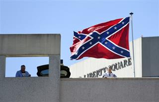 NCAA Greenville Confederate Flag Basketball