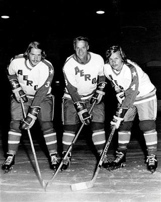 Gordie Howe, Mark Howe, Marty Howe
