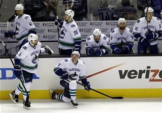 Canucks Sharks Hockey