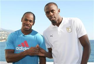 Usain Bolt,  Yohan Blake