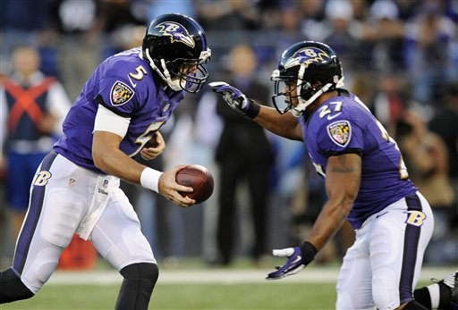 Joe Flacco, Ray Rice