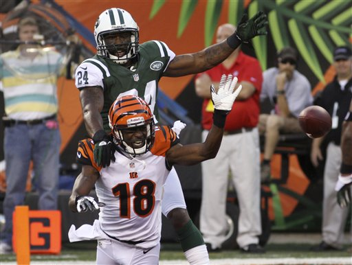 Darrelle Revis, A.J. Green