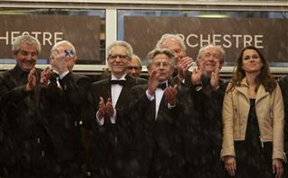Claude Lelouche, David Cronenberg, Roman Polanski, Jean-Pierre Dardennes, Luc Dardennes, Aurelie Filippetti, Ken Loach