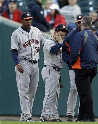 Jose Altuve, Jimmy Paredes