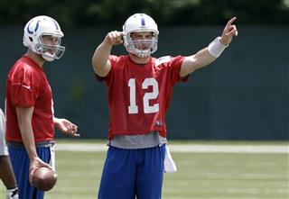Andrew Luck, Chandler Harnish