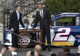 Barack Obama, Brad Keselowski