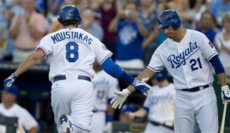 Mike Moustakas, Jeff Francoeur