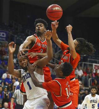 APTOPIX Southland Sam Houston St New Orleans Basketball