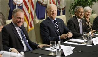 Joe Biden, Timothy M. Kaine, Kathleen Sebelius, Bobby Scott