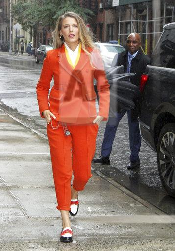Blake Lively Seen In NYC