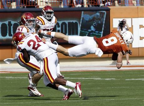 APTOPIX Iowa St Texas Football