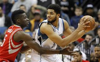 Karl-Anthony Towns, Clint Capela