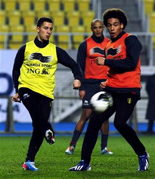 Eden Hazard, Axel Witsel