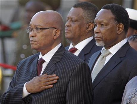 Jacob Zuma, Kgalema Motlanthe