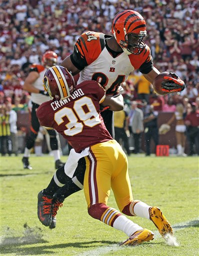 Jermaine Gresham,  Richard Crawford
