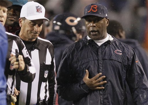 Gene Steratore, Lovie Smith