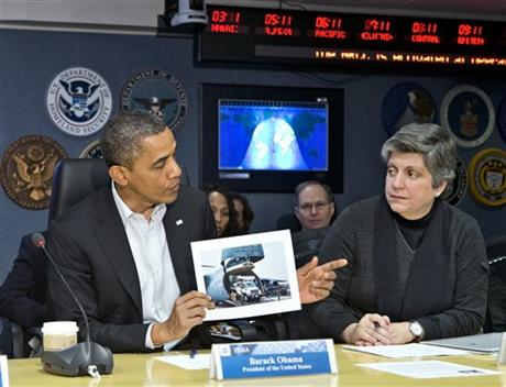 Barack Obama, Janet Napolitano