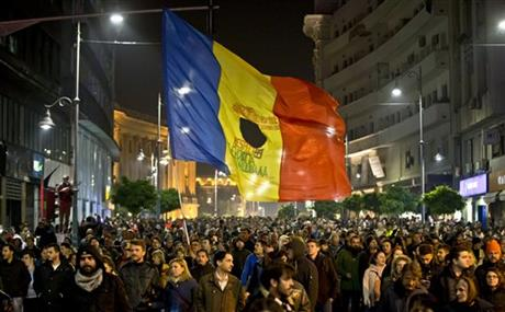 Romanian government resigns following protests