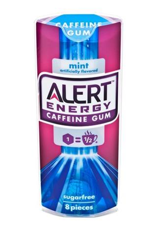 Alert Energy Caffeine Gum
