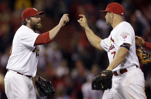 Matt Holliday, Jason Motte