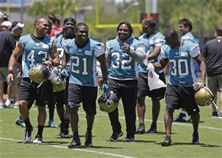 Jonathan Grimes, Justin Forsett, Maurice Jones-Drew, Jordan Todman