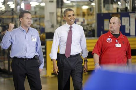 Barack Obama, Mark Gibson, Jeff Allen