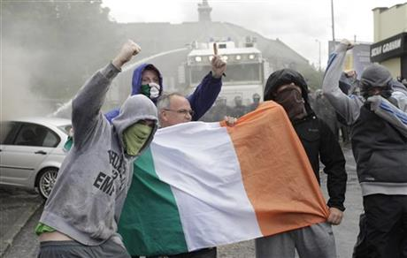 Britain Northern Ireland Rioting