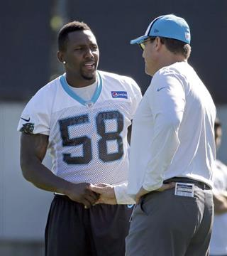 Ron RIvera, Thomas Davis