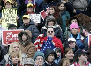 US Gun Control NY Rally 