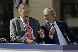 George W. Bush, George H.W. Bush
