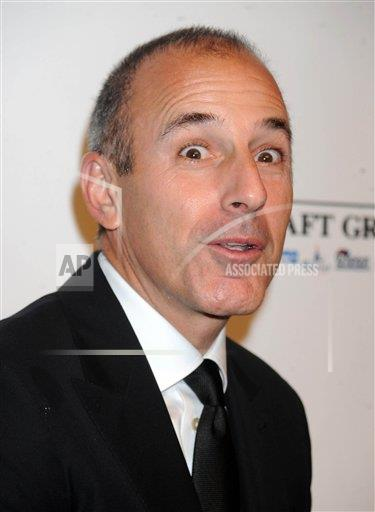 STRMX Star Max/IPx A ENT New York USA IPX Matt Lauer Fired From NBC News - STAR MAX COLLECTION