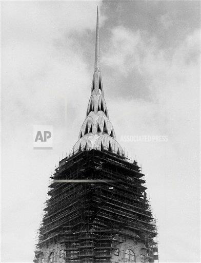 Watchf AP A  NY USA APHS451323 New York's Chrysler Building