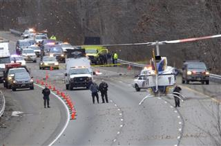 Plane Crash Highway