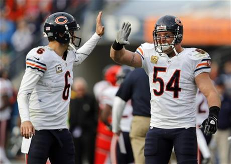 Jay Cutler, Brian Urlacher