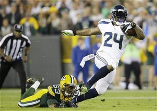 APTOPIX Seahawks Packers Football