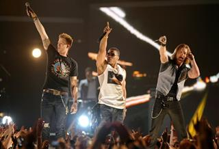 Nelly, Brian Kelley, Tyler Hubbard