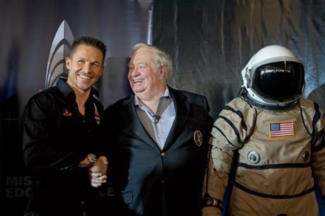 Felix Baumgartner, Joe Kittinger
