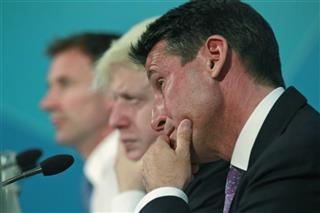 Jeremy Hunt, Boris Johnson, Sebastian Coe
