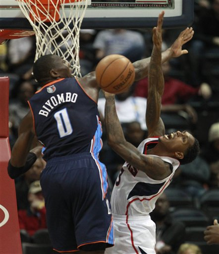 Lou Williams,  Bismack Biyombo