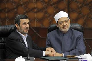 Mahmoud Ahmadinejad, Ahmed al-Tayeb