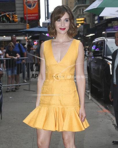 Alison Brie at 'Good Morning America' in New York City - 8/13/19