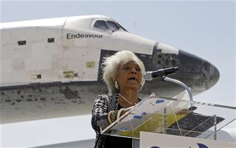 Space Shuttle Endeavour, Nichelle Nichols